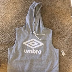 Tops - Umbro grey and white new with tags